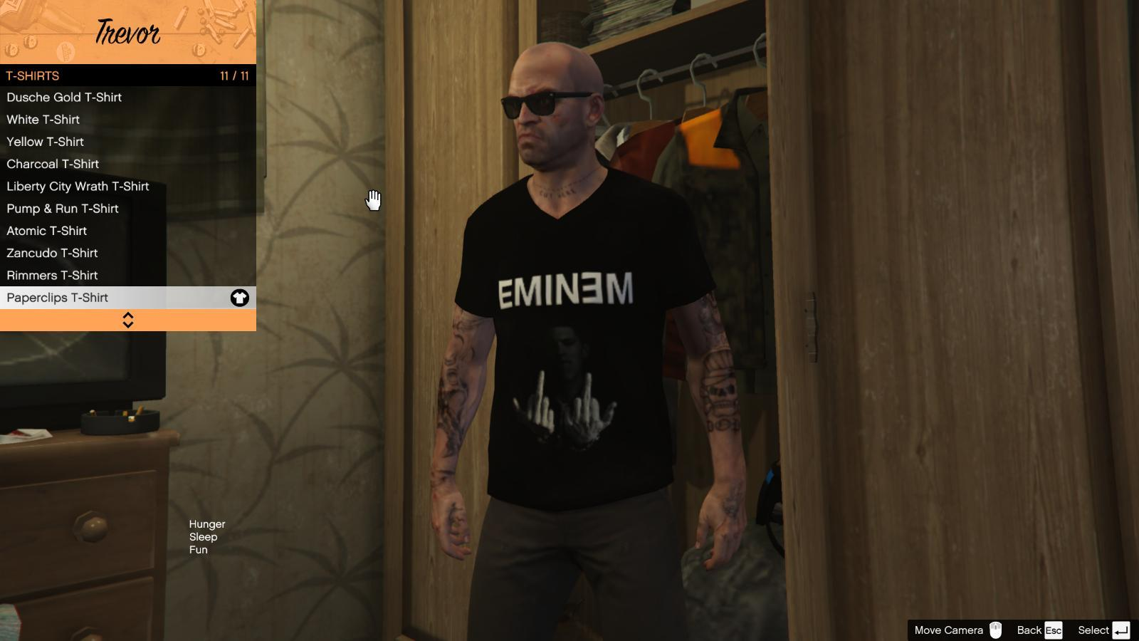 Band T-Shirts for Trevor - GTA5-Mods.com