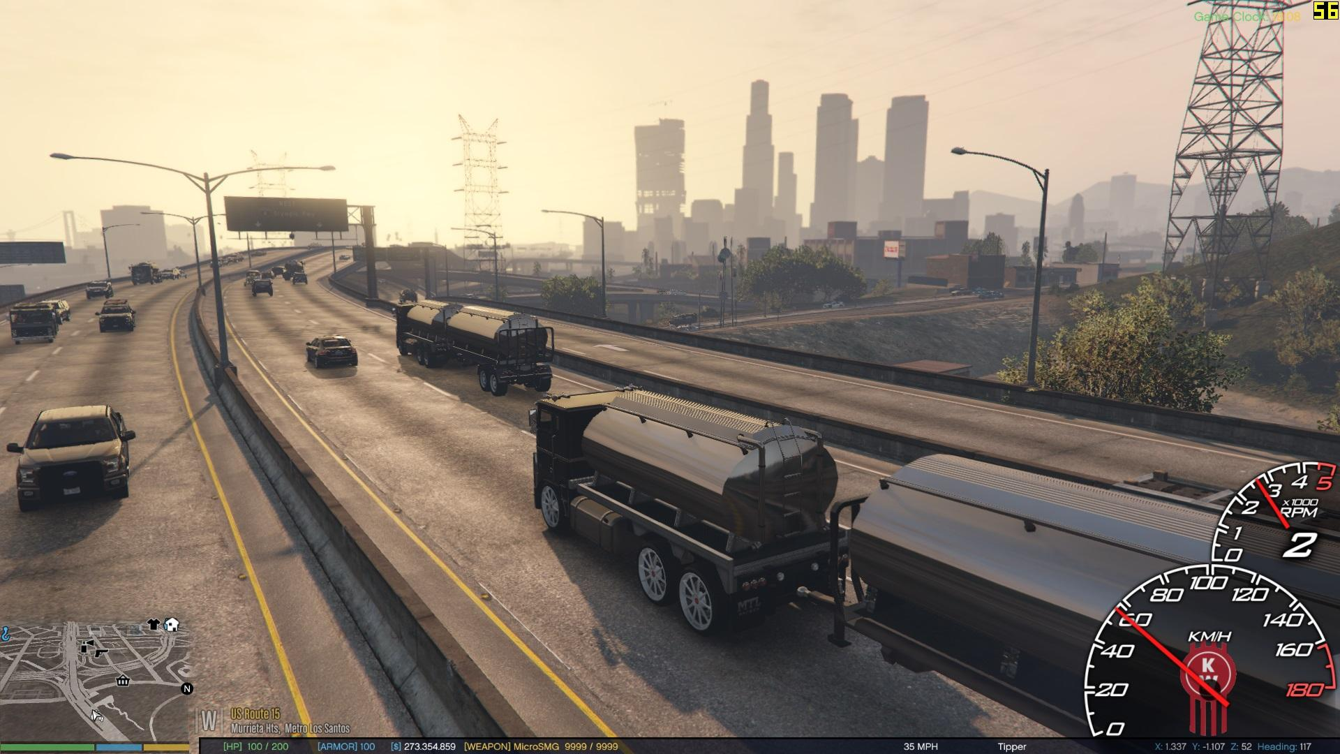tanker with trailer gta5. Black Bedroom Furniture Sets. Home Design Ideas