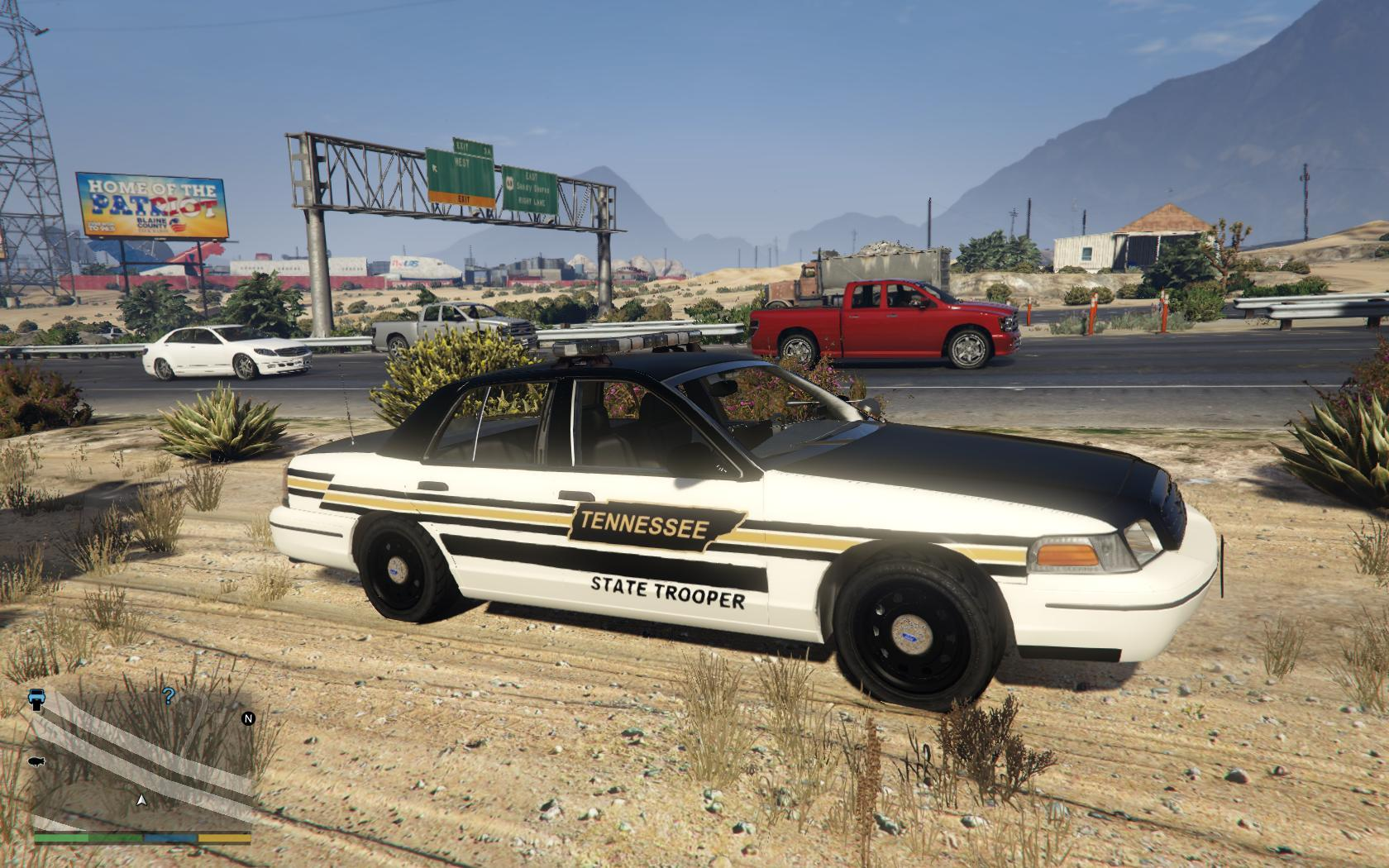 Mercedes Benz Nashville >> Tennessee State Trooper CVPI (Skin) - GTA5-Mods.com