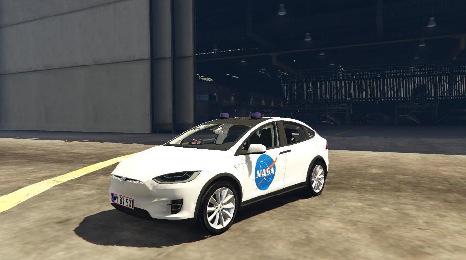 Tesla Model X NASA Paintjob - GTA5-Mods.com