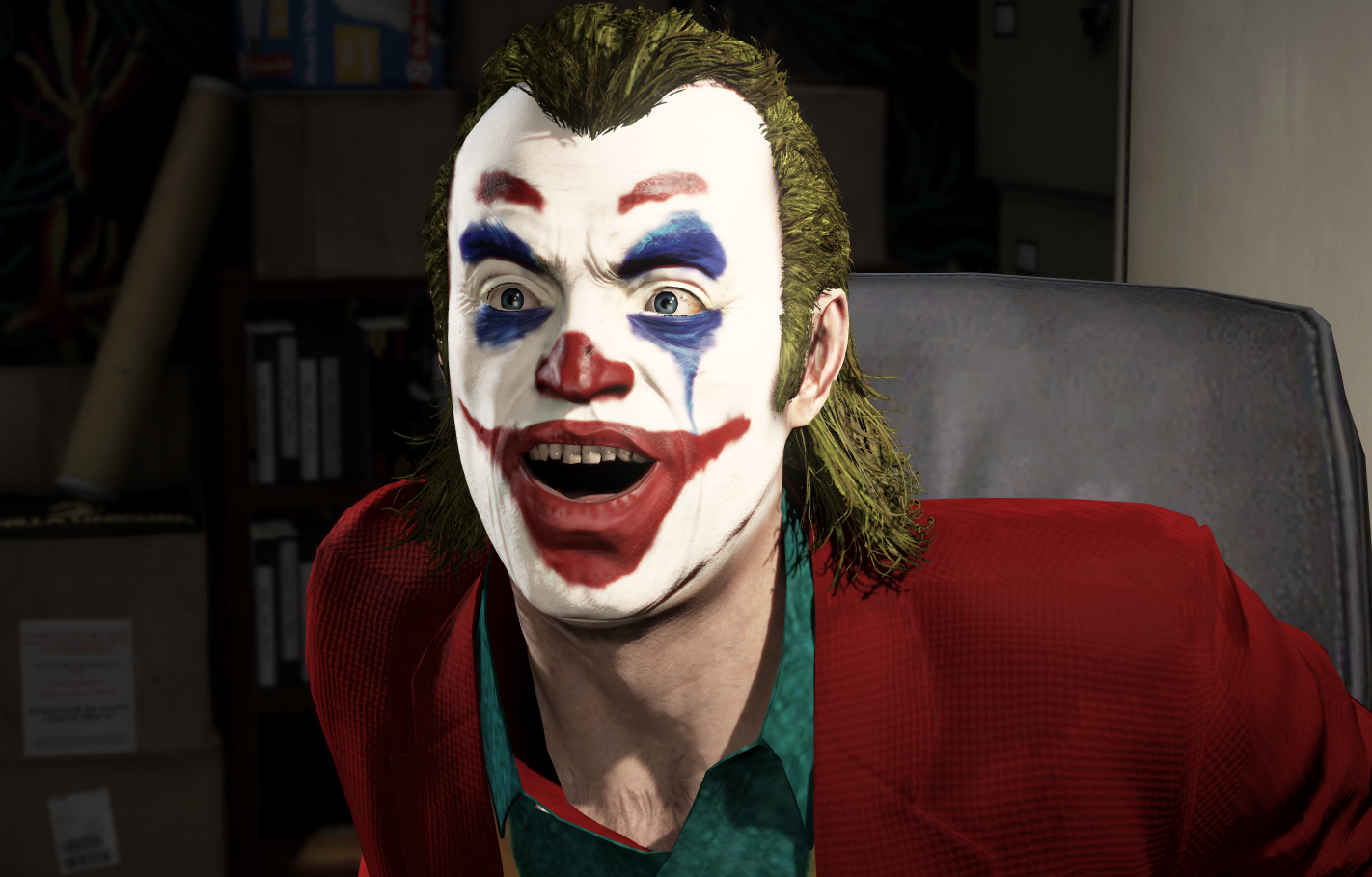 Texture Joker For Trevor Joker 2019 Gta5 Modscom