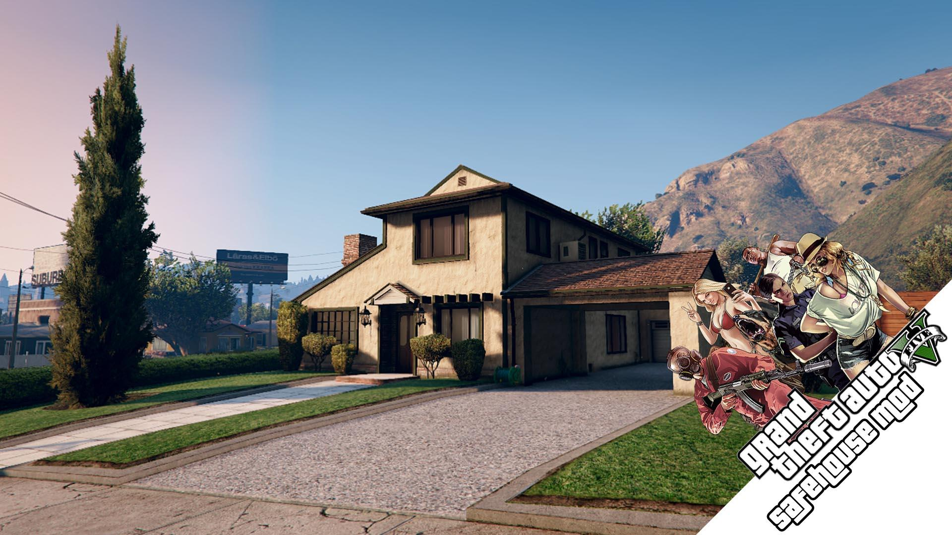 The Savehouse Mod: Houses, Hotels, Custom Savespots [lua]  Gta5mods