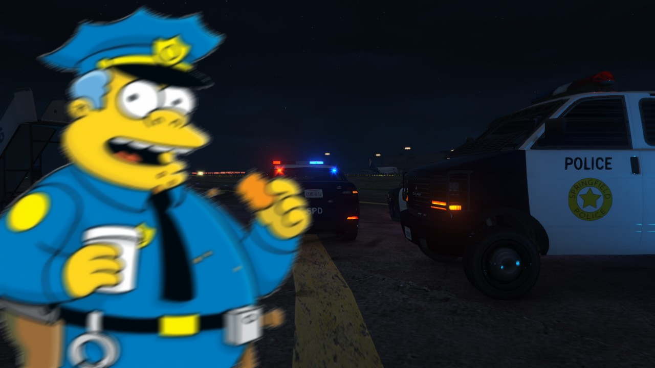 The simpsons springfield police pack gta5 - Police simpsons ...