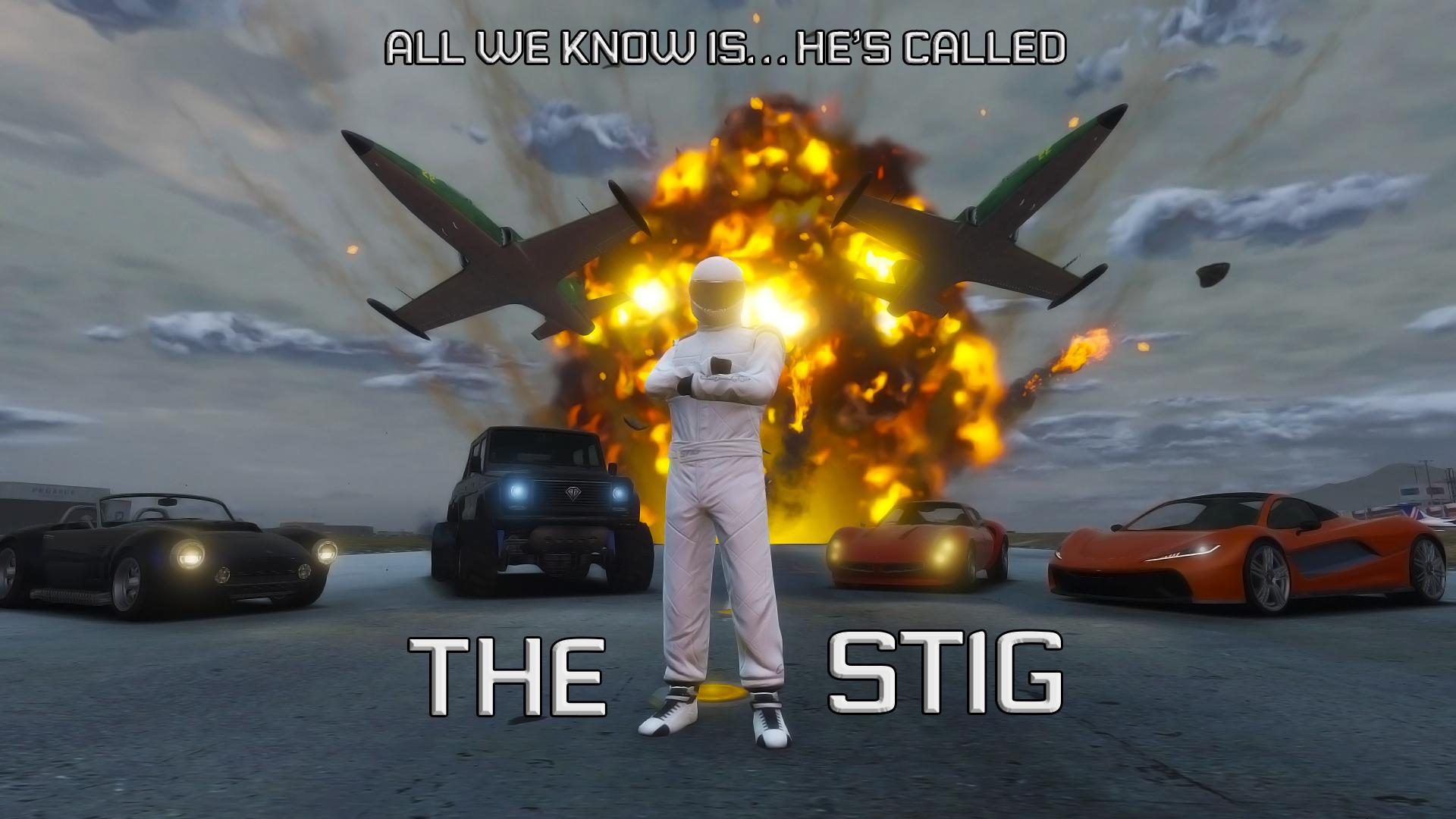 The Stig Racing Suit Gta5 Mods Com