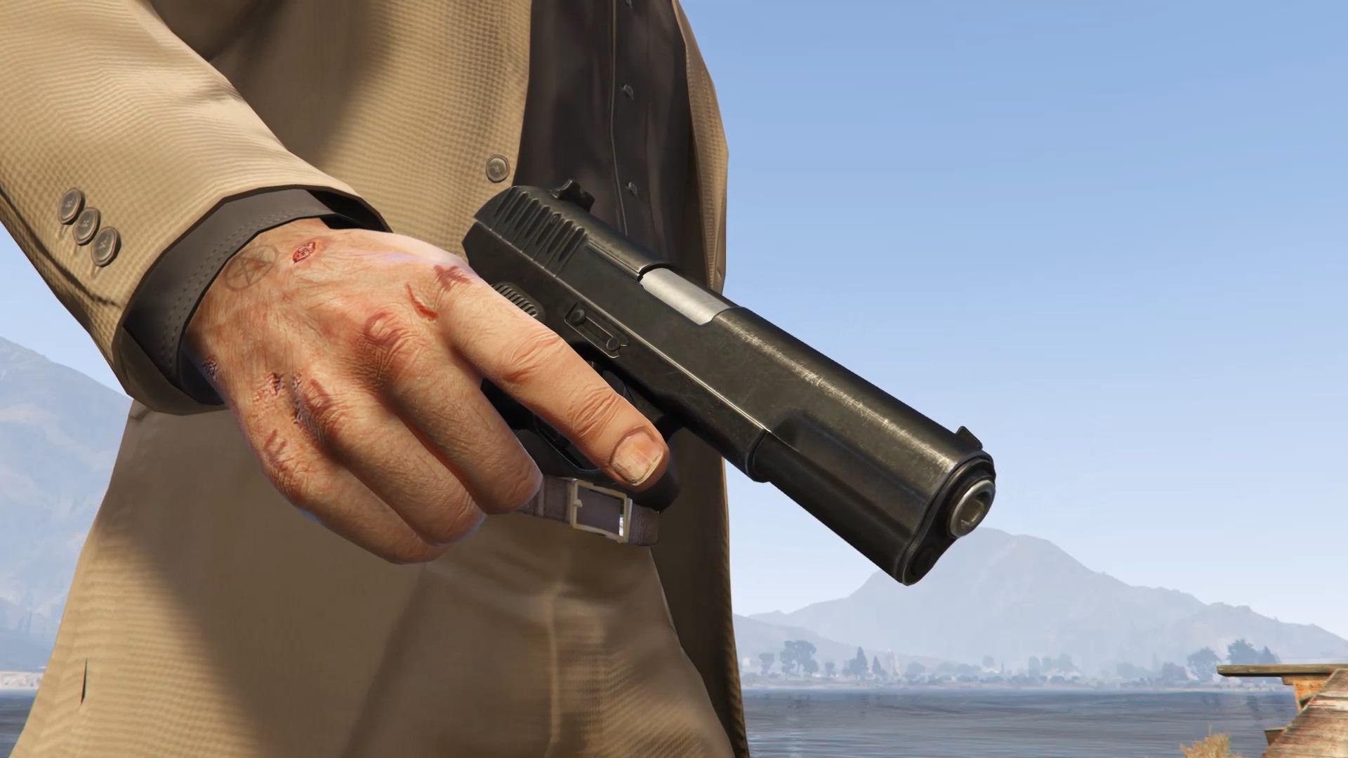Tokarev Tt 33 Pistol 2k I Hp I Full Animated Gta5 Mods Com