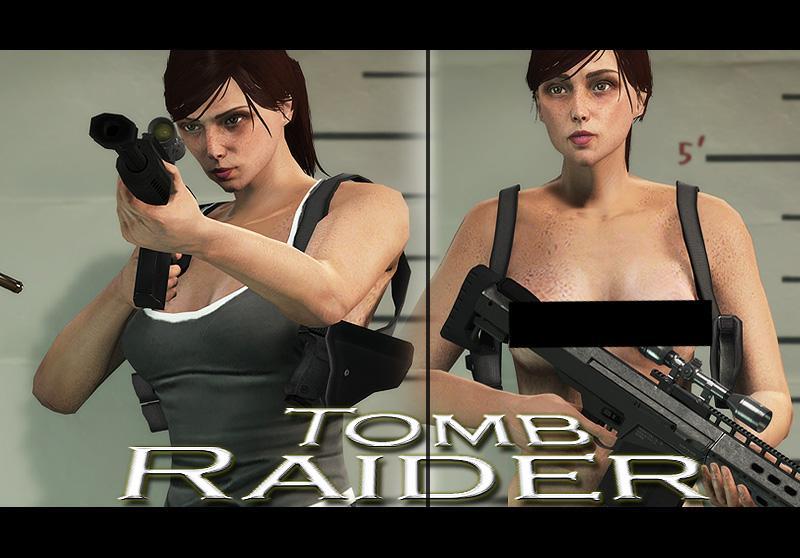 Lara Croft Tomb Raider 18 - Requested - For Menyoo And Skin Control - Gta5-Modscom-1083