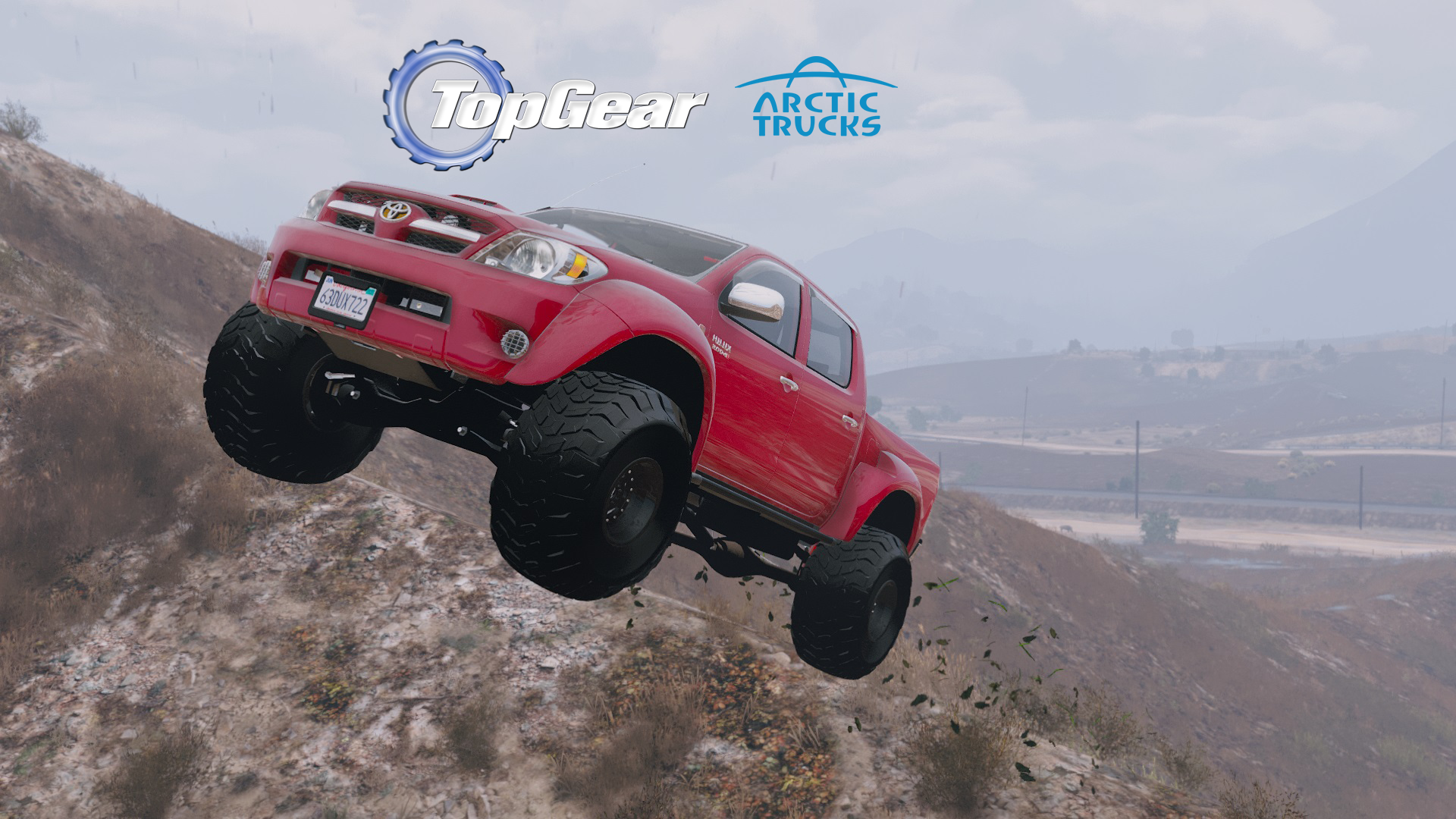 2007 Top Gear Toyota Hilux At38 Arctic Trucks Add On