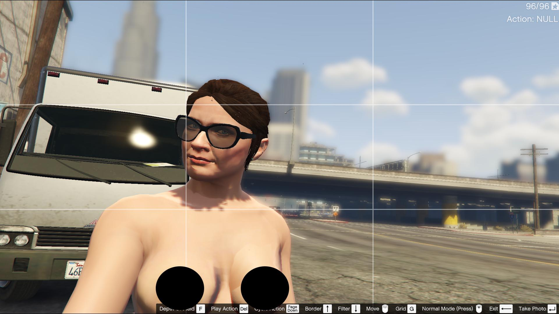 Grand theft auto v naked amanda sex films