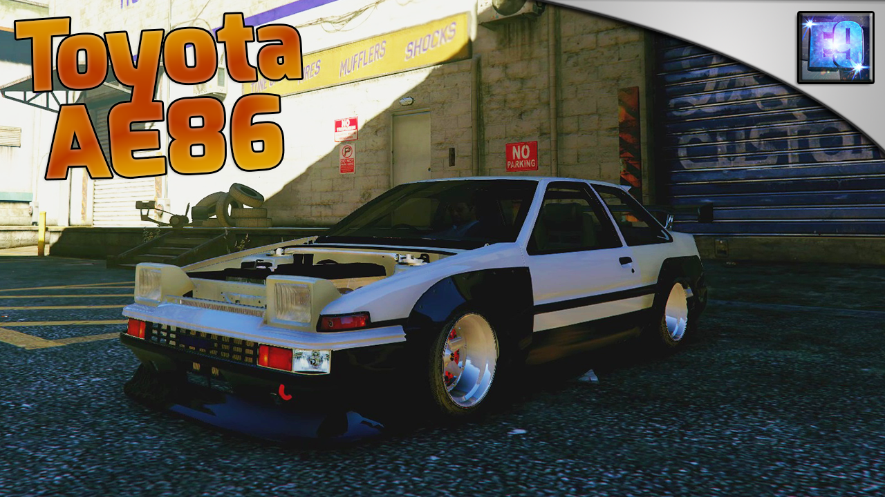 Toyota ae86 drift handling mod gta5 for Toyota 86 exterior mods