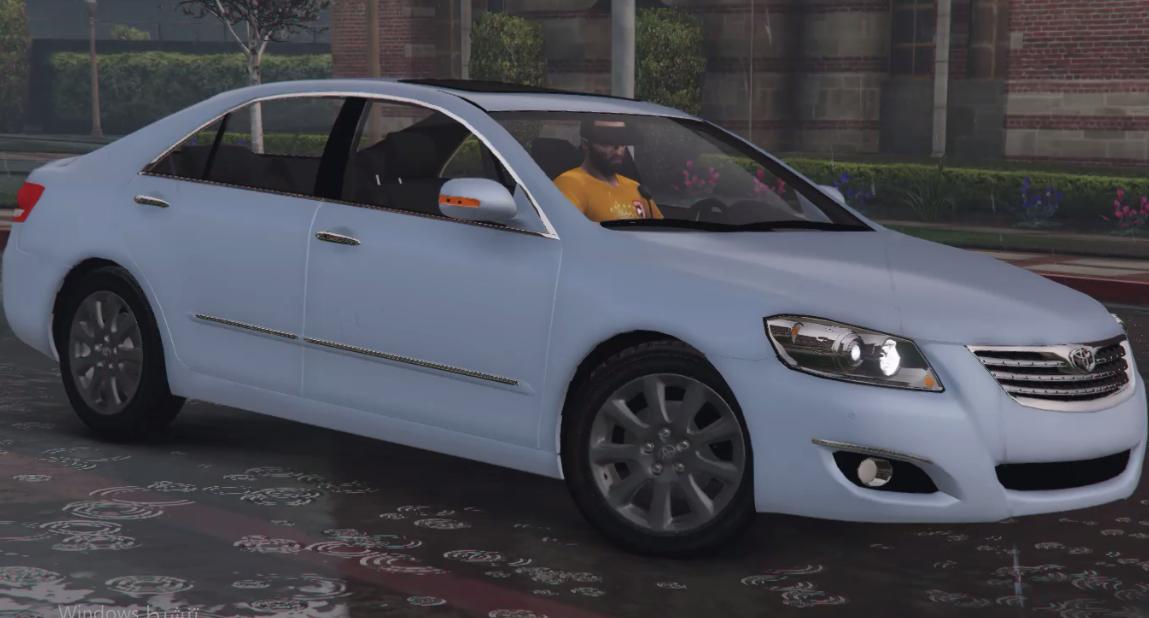 Toyota Aurion 2009 Standard Replace Gta5 Mods