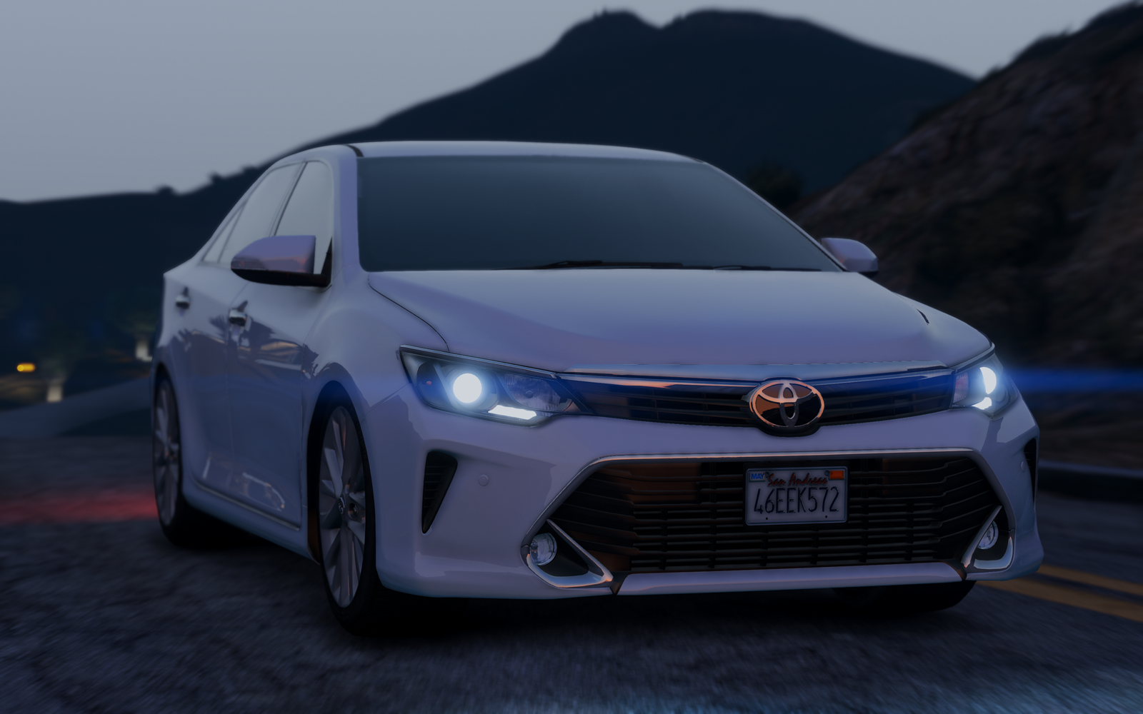 Toyota Camry 2016 Add On Replace Gta5 Mods Com