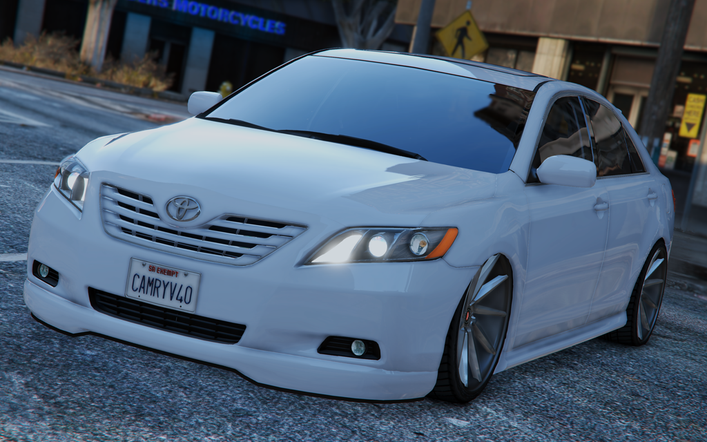 toyota camry v40 2008 tunable add on replace gta5. Black Bedroom Furniture Sets. Home Design Ideas