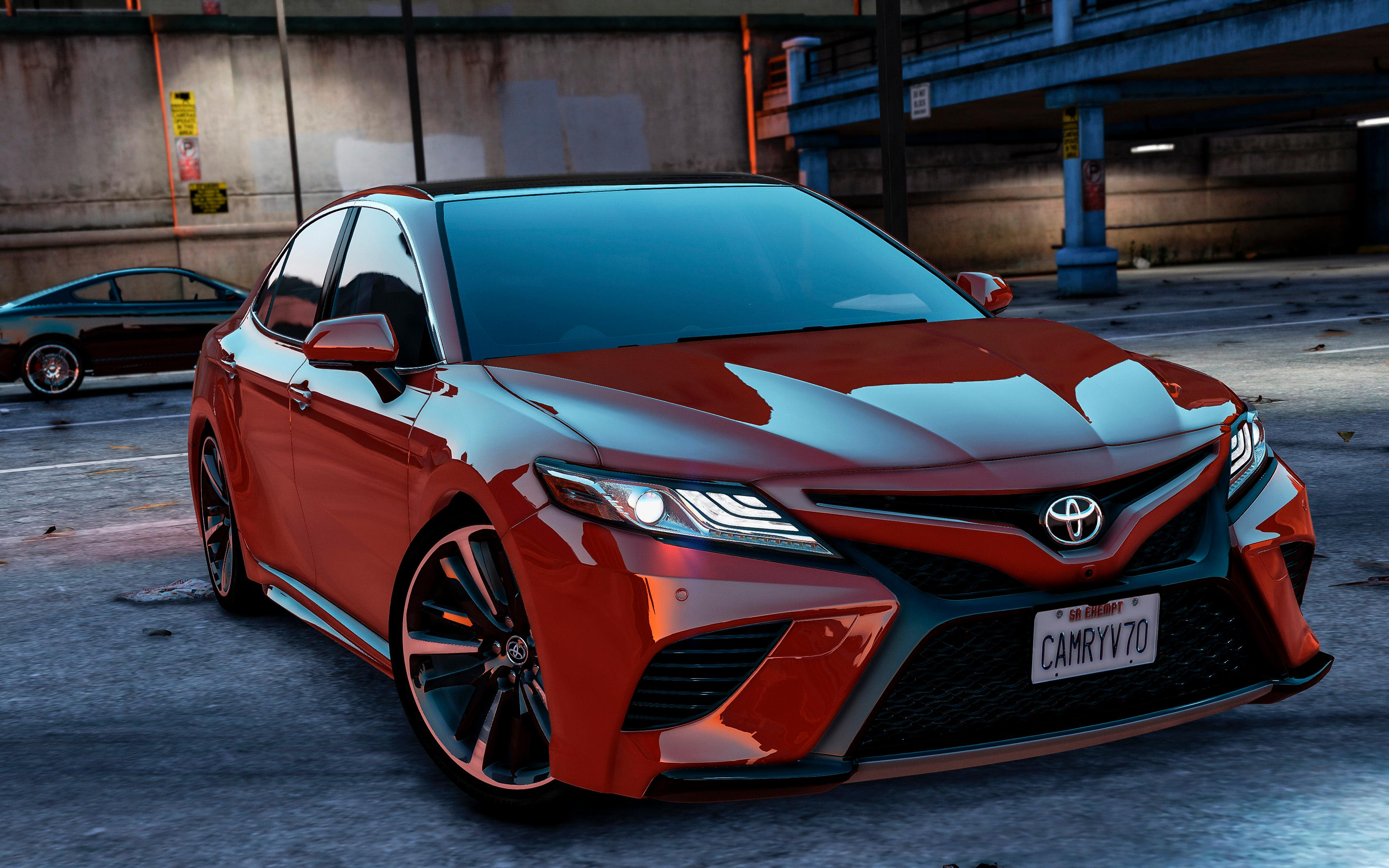 2015 Toyota Camry Xse >> Toyota Camry XSE 2018 [Replace / Add-On] - GTA5-Mods.com