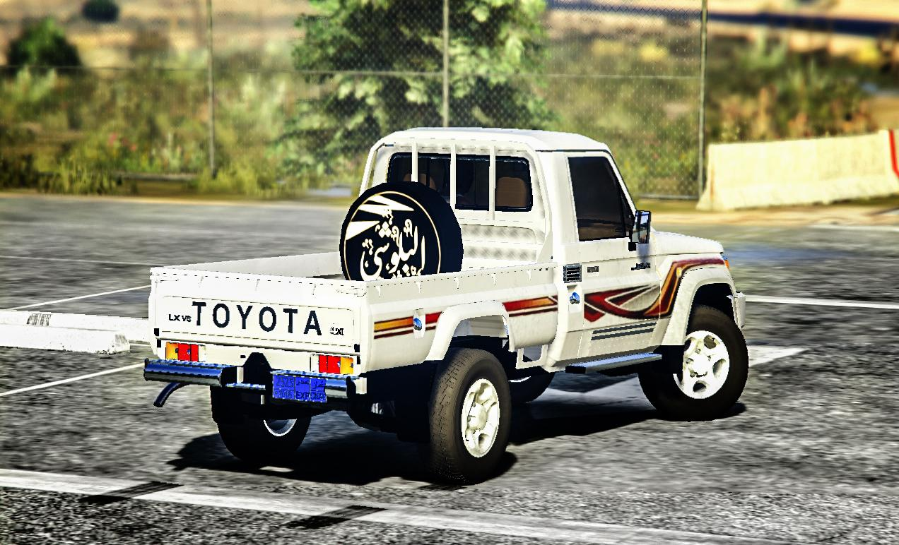 toyota land cruiser pickup 2018 vehcile replace gta5. Black Bedroom Furniture Sets. Home Design Ideas