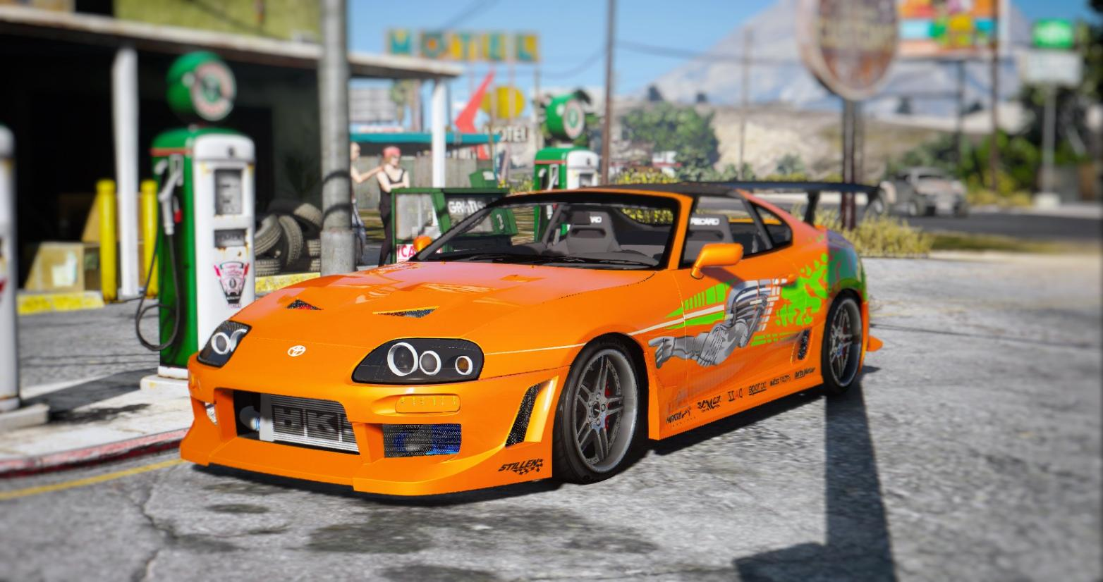 Toyota Supra The Fast and the Furious vinyl - GTA5-Mods.com