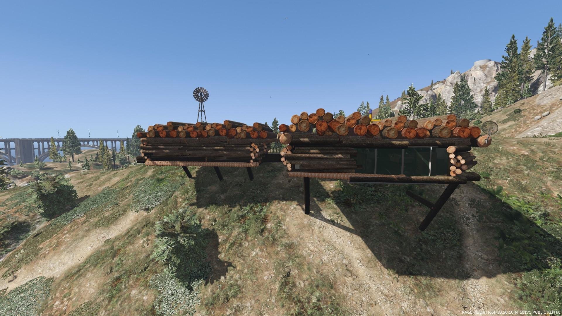 Trevor 39 S New Log House Gta5