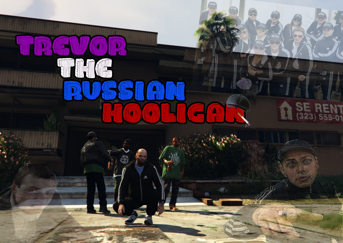 Trevor the russian hooligan gta5 for The russian mod