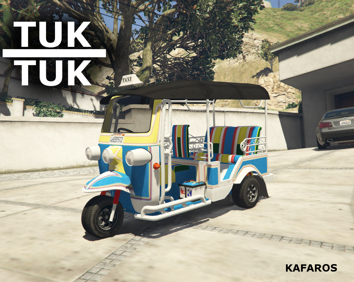 tuk-tuk - gta5-mods