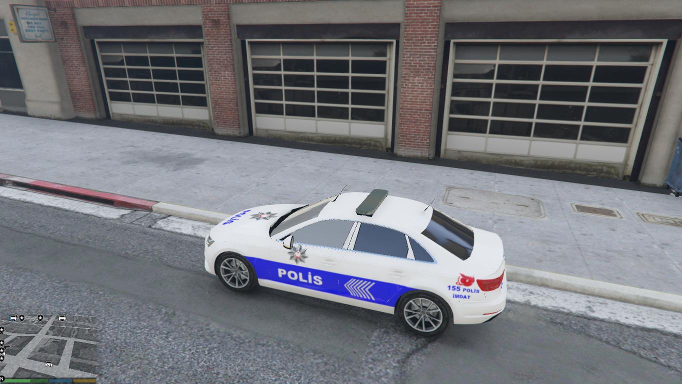 Turk Audi Polis Arabasi Gta5 Mods Com