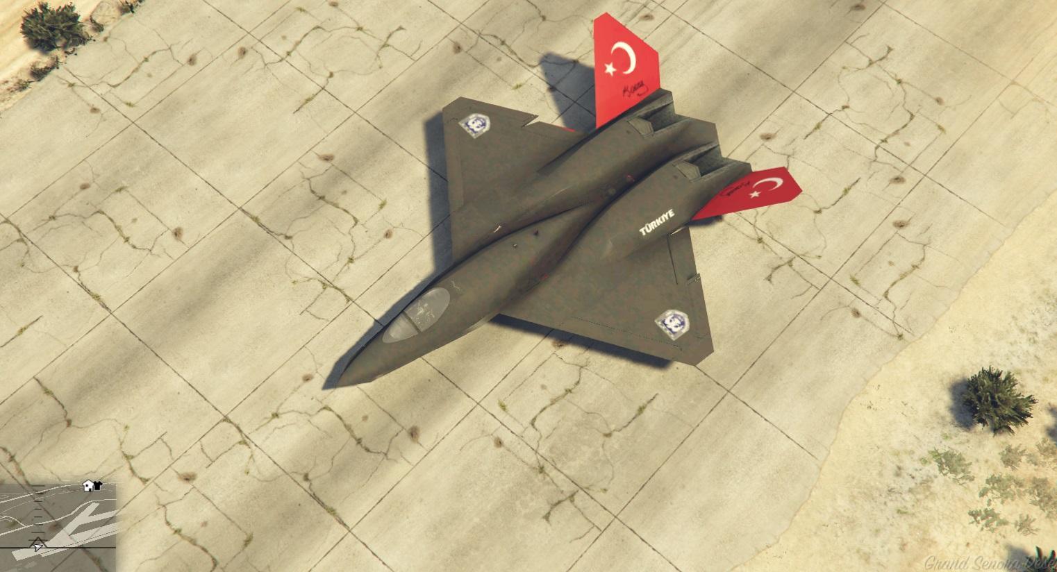 Türk Hava Kuvvetleri YF 23 /Turkish Air Forces YF 23 ...