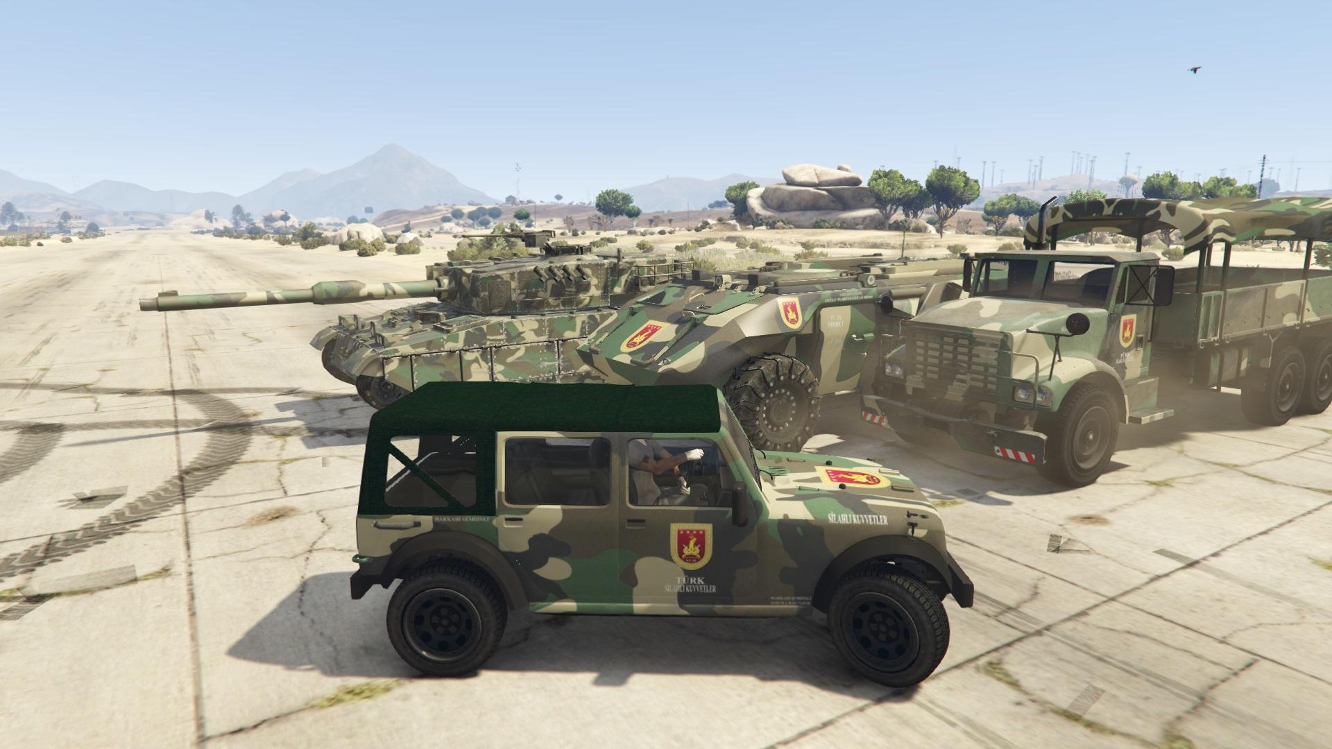 Turkish Army Car Tsk Aracı 4k Gta5 Mods Com