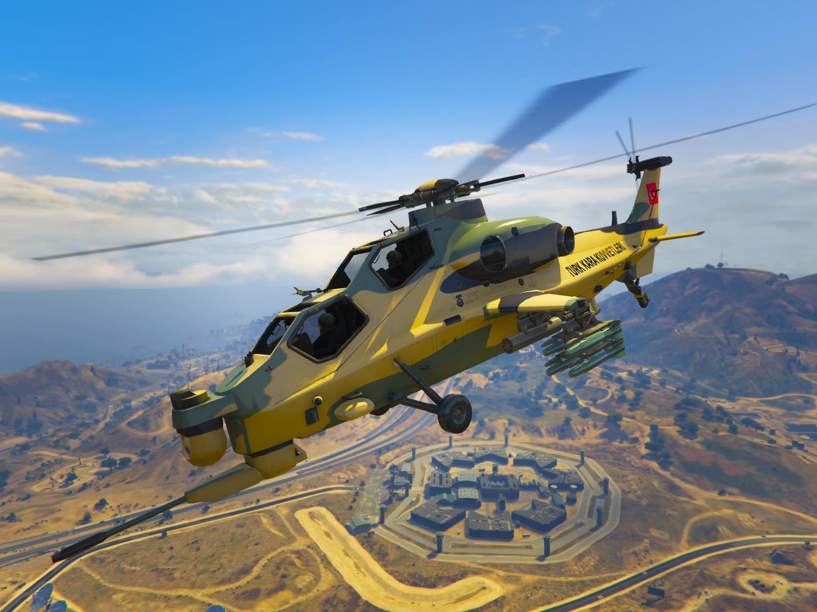 Elicottero Gta 5 : Turkish land forces helicopter turk kara kuvvetleri atak