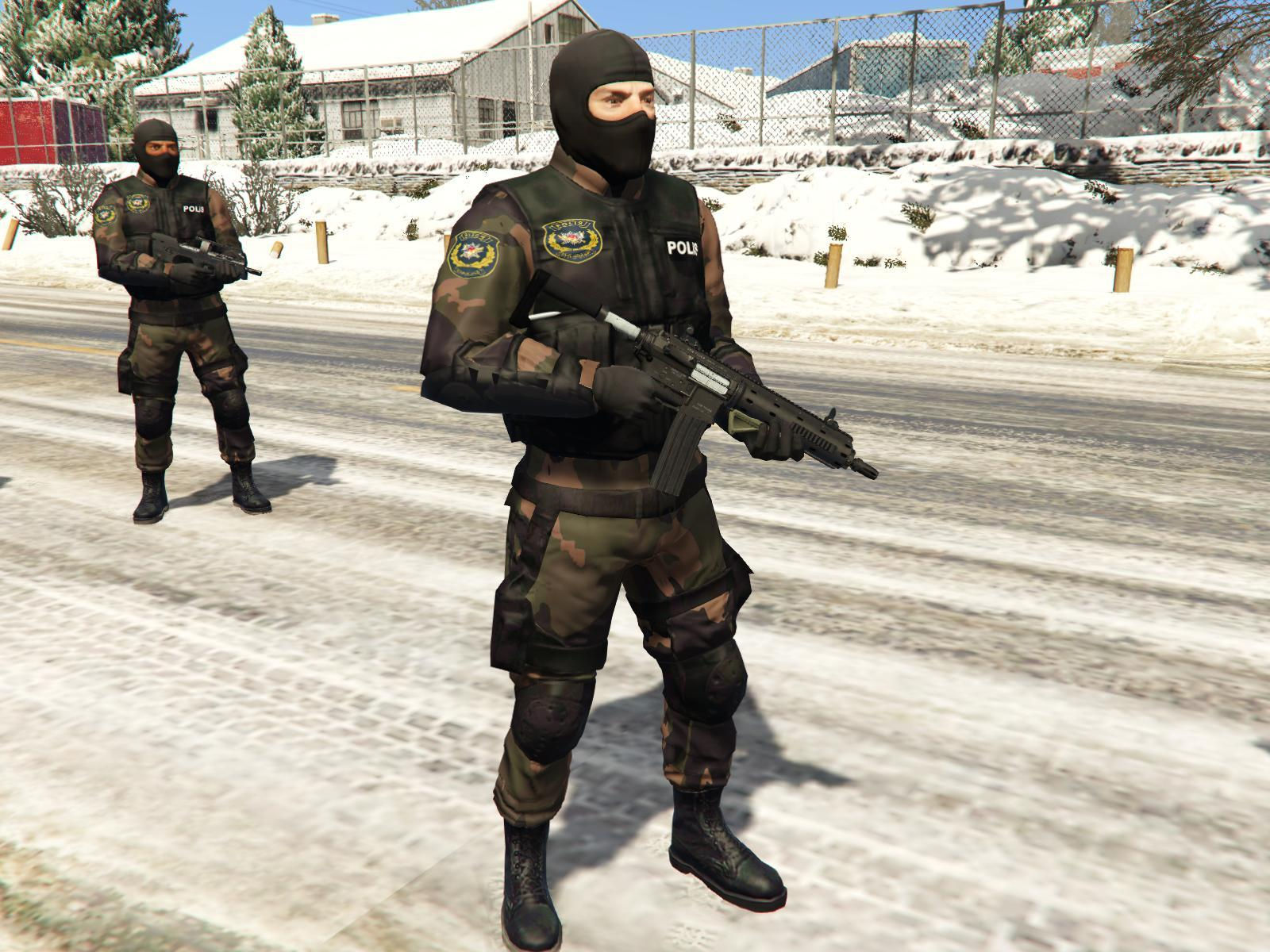 turkish swat polis 214zel harekat gta5modscom