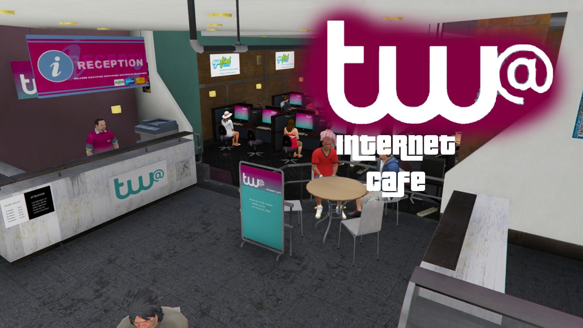 Internet Cafe Gta  Cheats