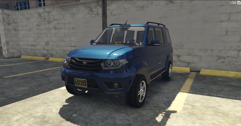 UAZ-PATRIOT - GTA5-Mods com