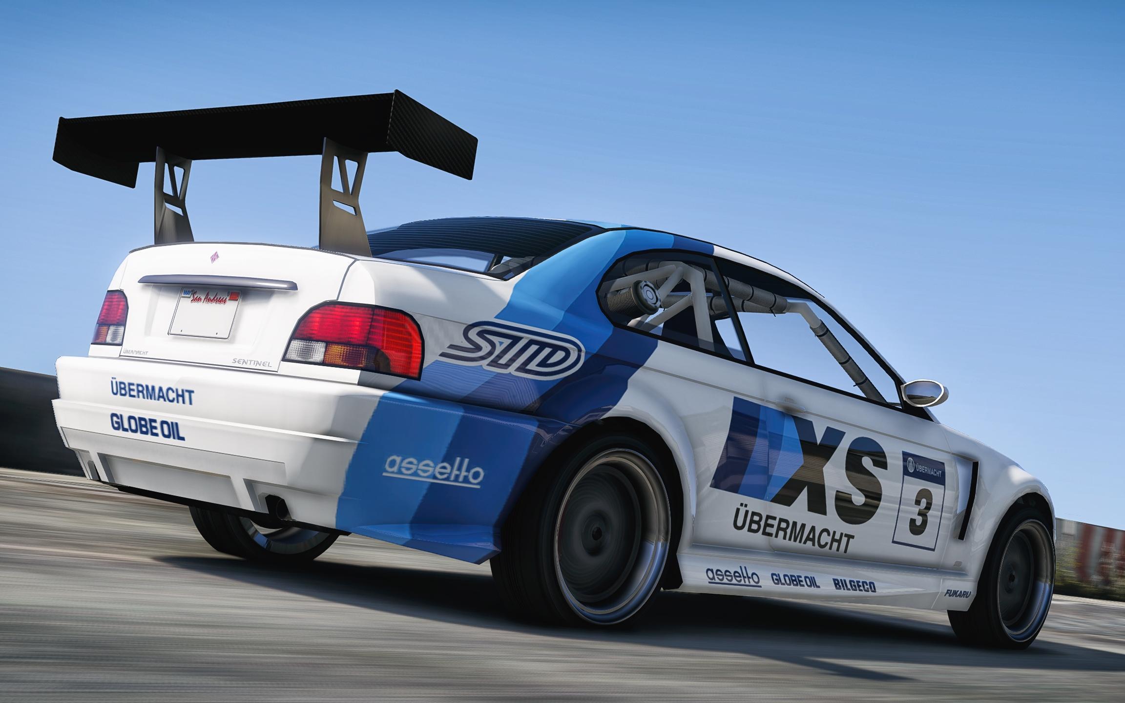 Übermacht Sentinel XS Motorsport Race Car - GTA5-Mods.com