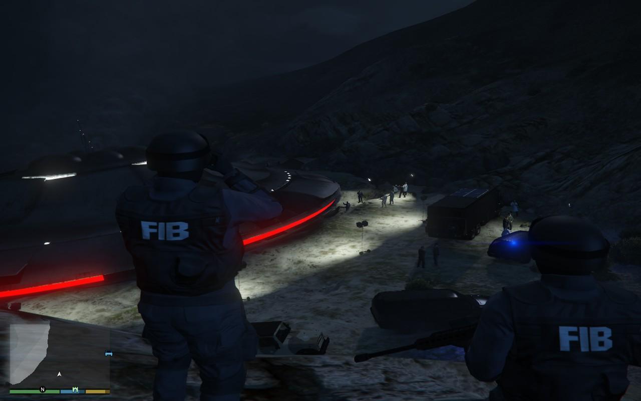 UFO Crash Investigate - GTA5-Mods.com