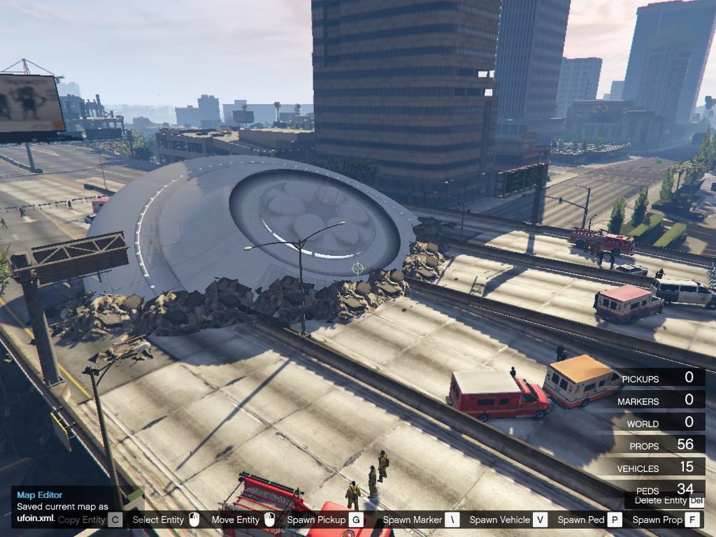 UFO Bridge Crash - GTA5-Mods.com