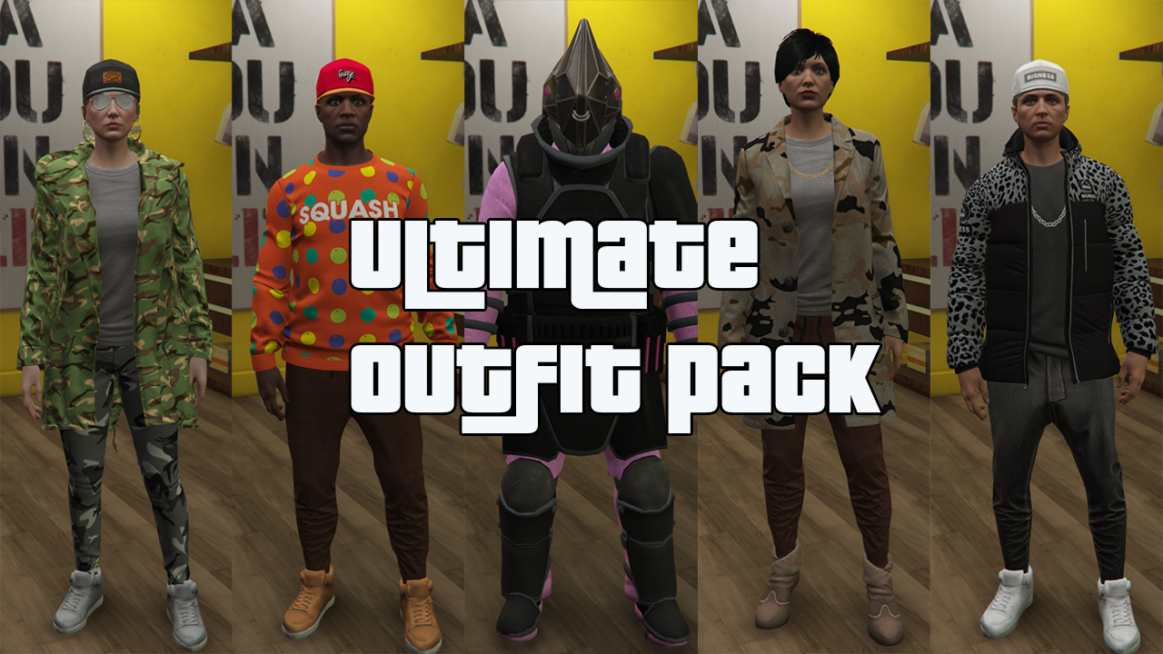 Ultimate Outfit Pack Menyoo Gta5 Mods