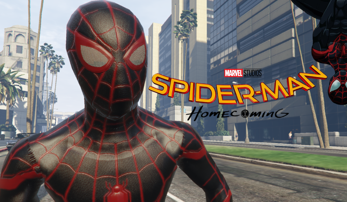 Ultimate Spiderman Miles Morales Add On Ped Gta5 Mods Com