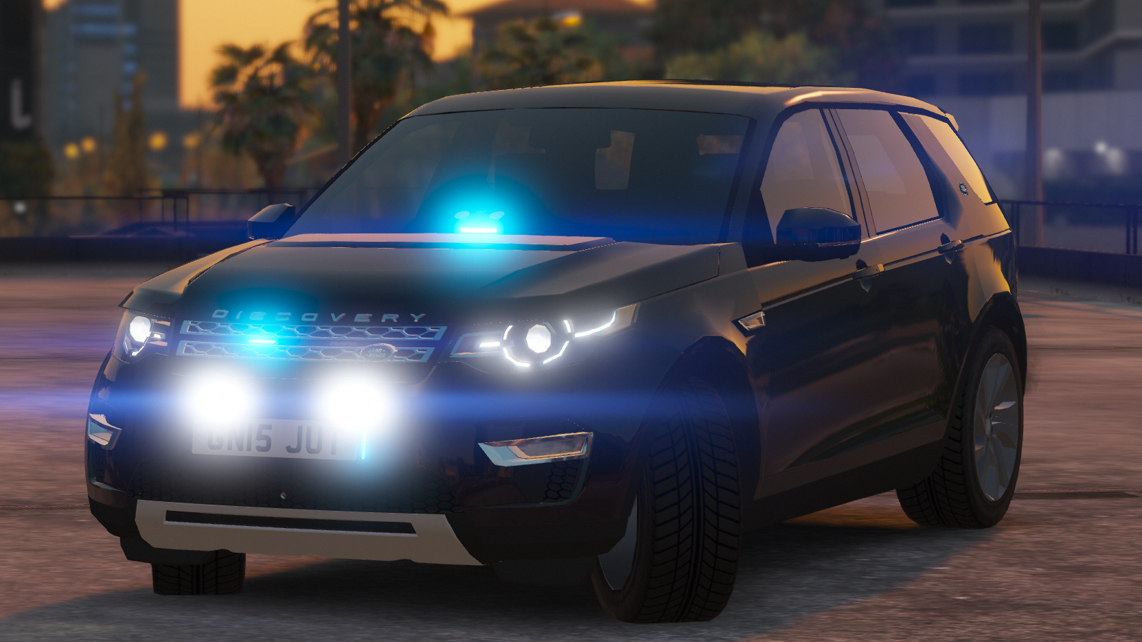 Unmarked Land Rover Discovery Sport Els Gta5 Mods Com