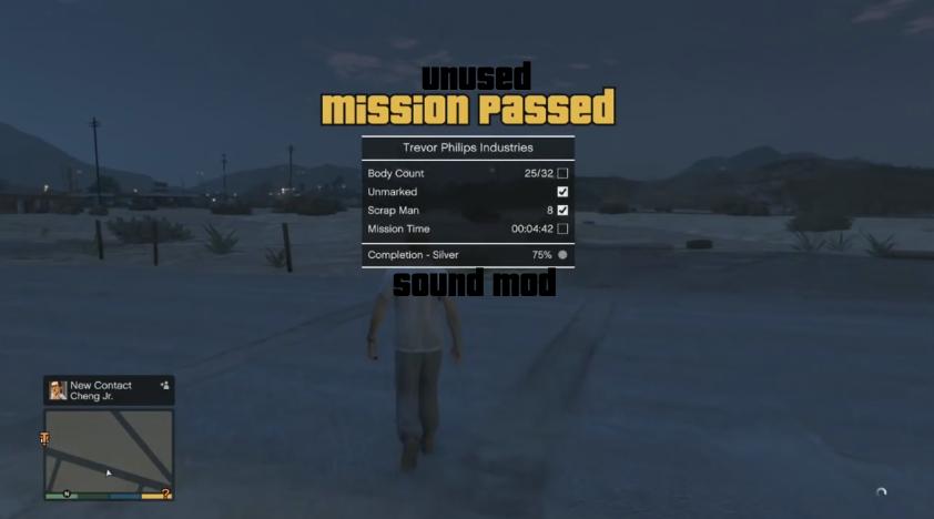 Unused Mission Complete Sound Mod - GTA5-Mods com