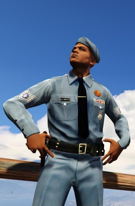 Us Air Force Security Police 1970 Gta5 Mods Com