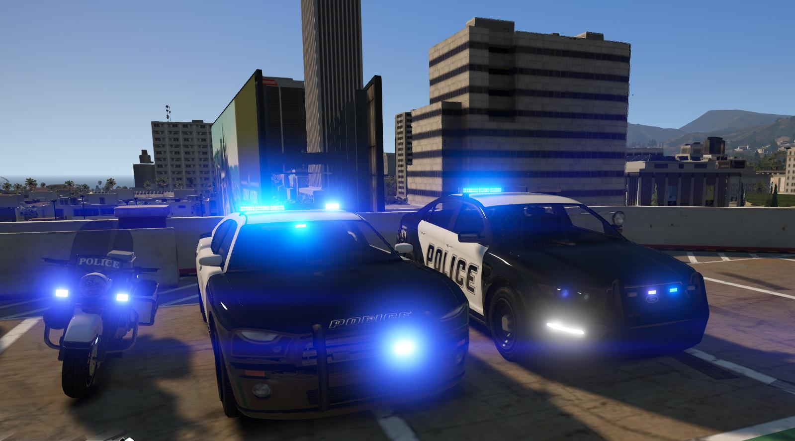 how to turn police lights of in gta 5