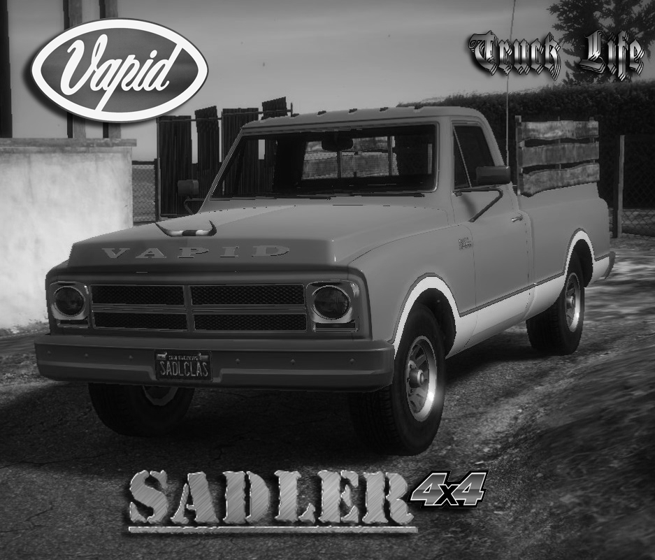 Gta 4 Vehicles Img For Backup Mod: Vapid Sadler 4x4 (Classic) [Add-On/Tuning]