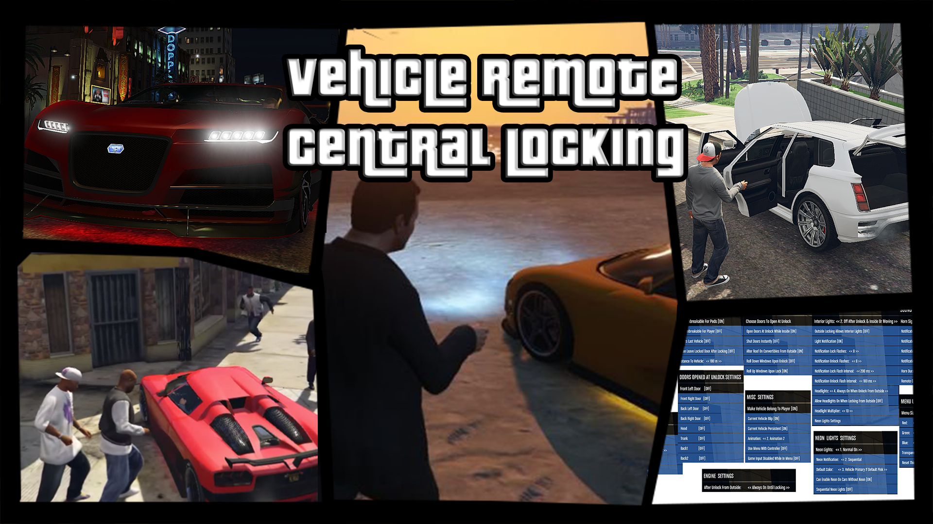 Vehicle Remote Central Locking - GTA5-Mods com