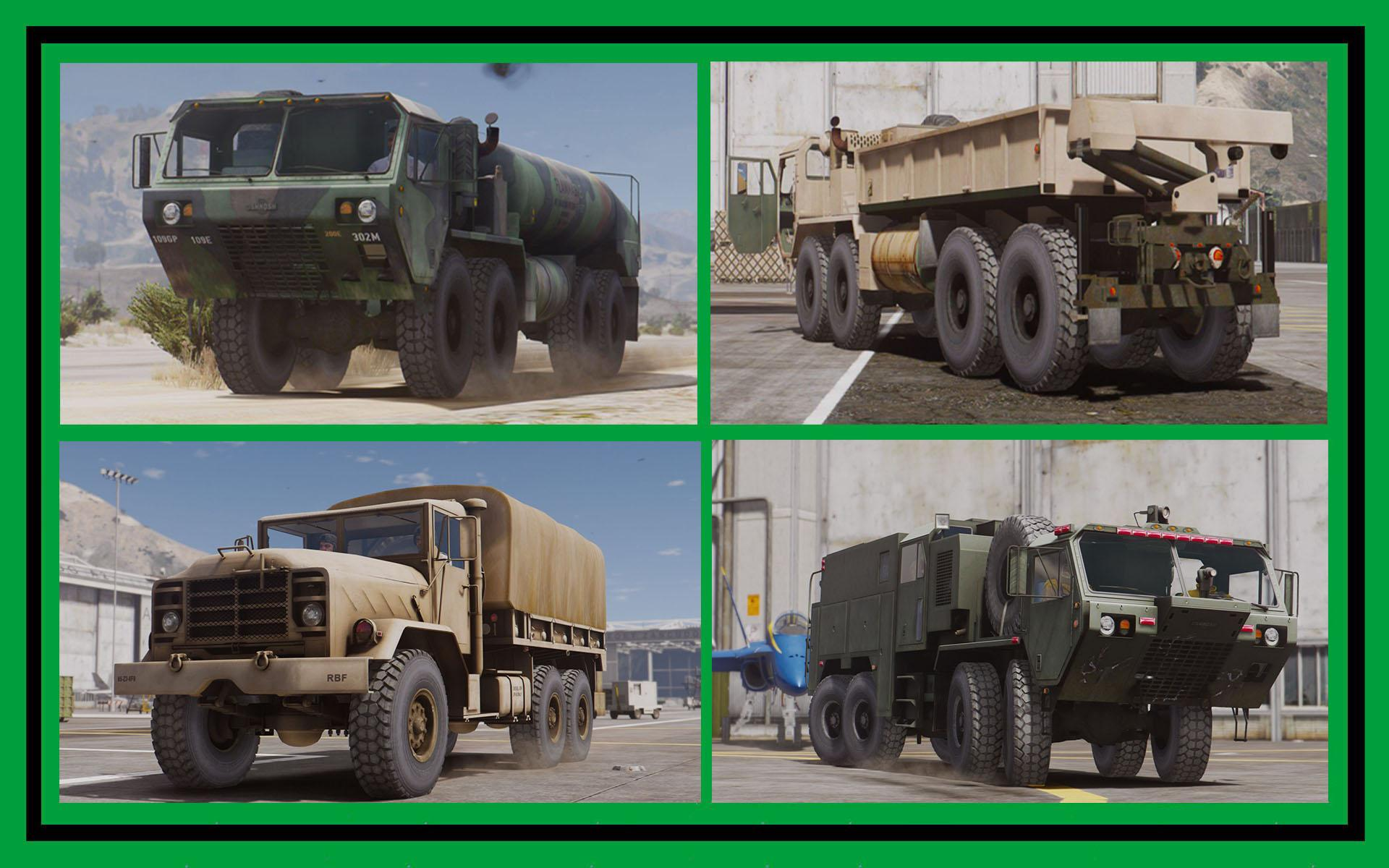 US Vehicles Military: Transport & Support [Add-On] Pack
