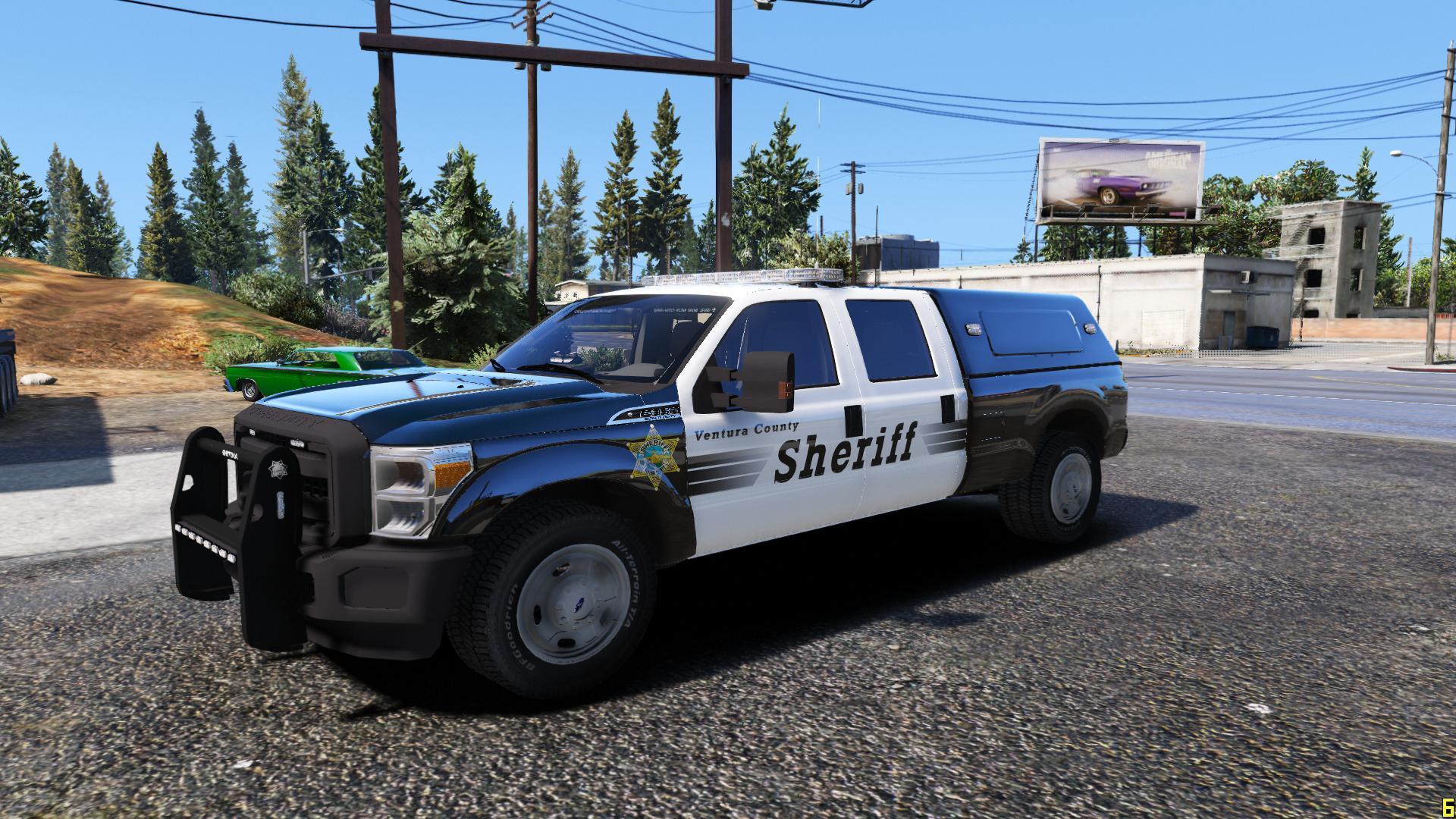 ventura county sheriff 39 s office ford f 350 super duty. Black Bedroom Furniture Sets. Home Design Ideas