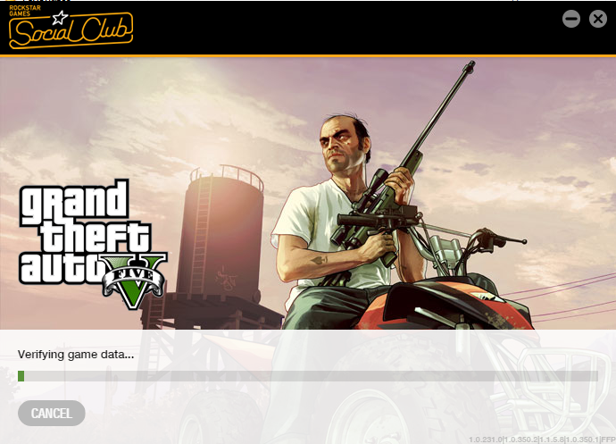 gta v activation error verifying game ownership failed