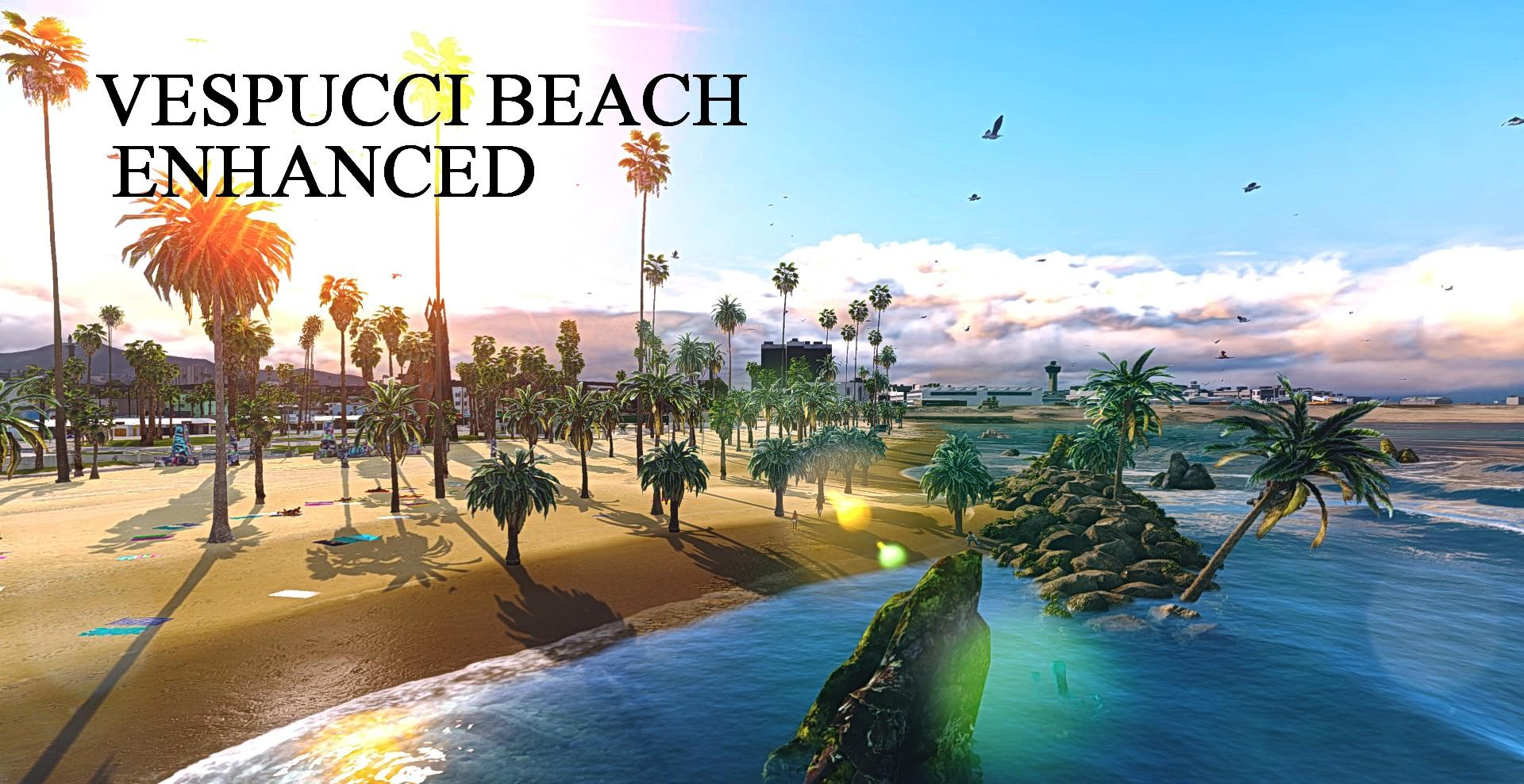 Vespucci Beach Enhanced Huge Rock Formation Gta5
