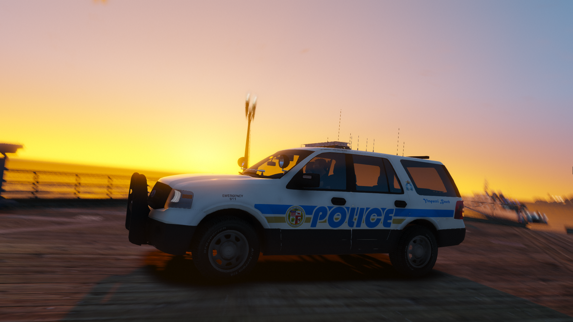 Vespucci Beach Police 2013 Ford Expedition Gta5 Mods Com