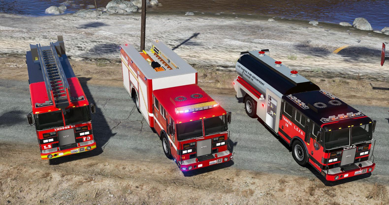 Fivem Mods Fire Truck