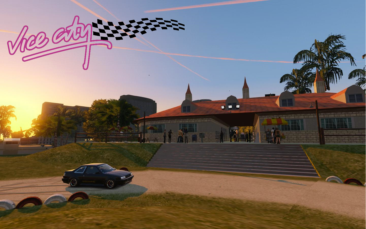 gta vice city cars location in maps