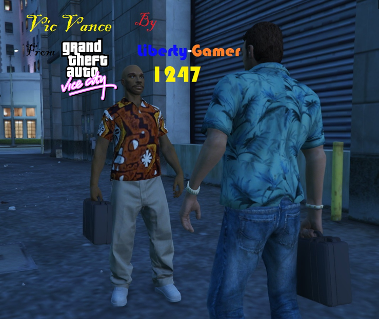 Vic (Supplier) Vance from GTA VC - GTA5-Mods com