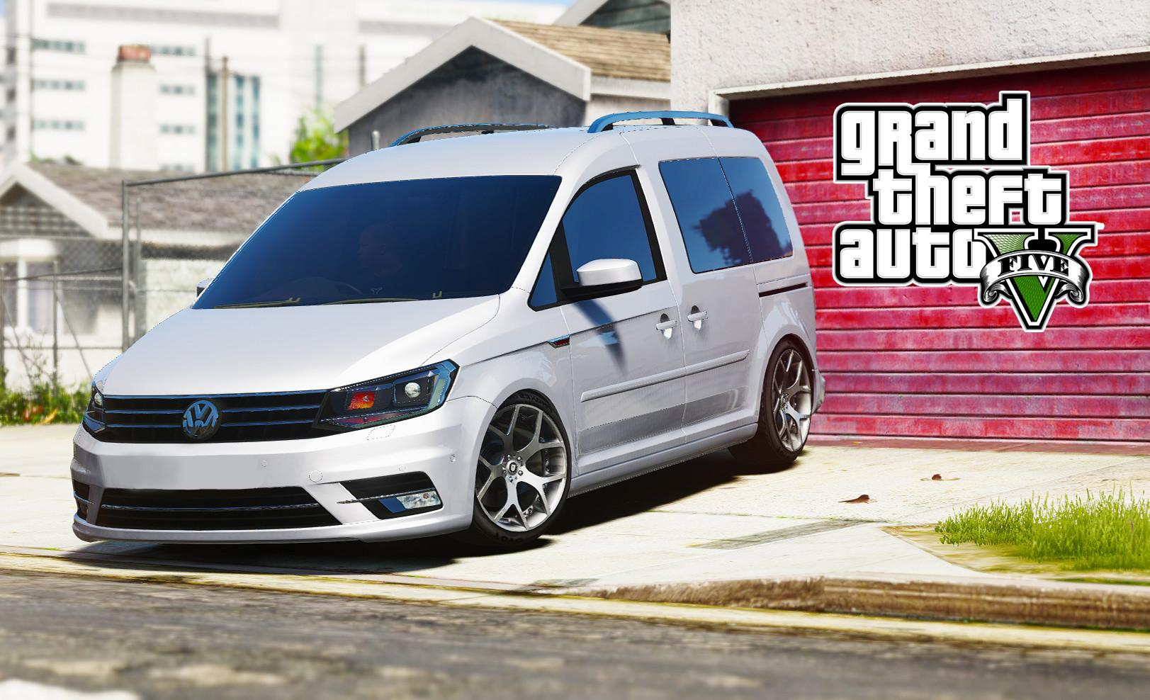 2016 volkswagen caddy gta5. Black Bedroom Furniture Sets. Home Design Ideas