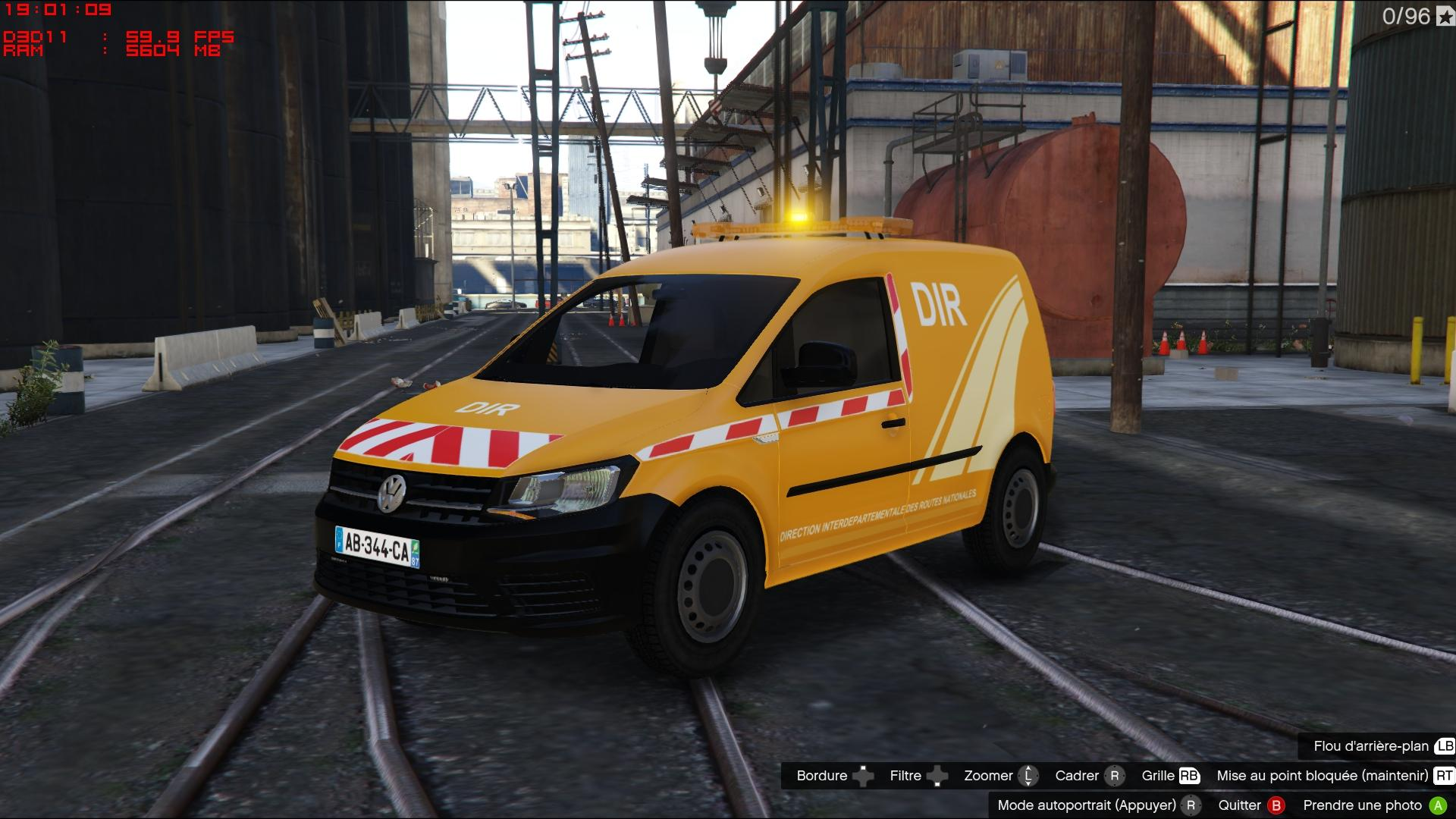 Volkswagen Caddy French Dir Els Gta5 Mods Com